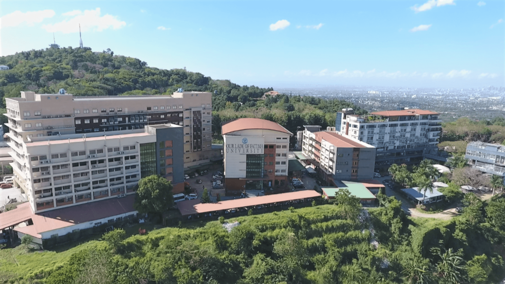 Olfu Antipolo Campus Drone