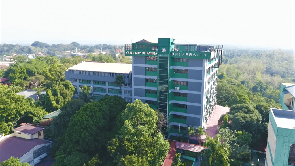 Olfu Quezon City Campus Drone