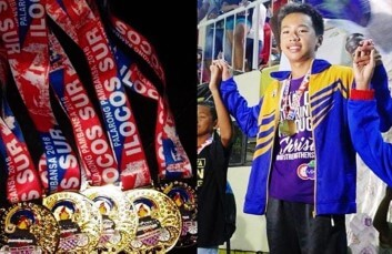 Thruelen, Philippines' fastest swimmer in his Age Group
