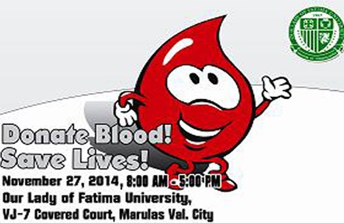 Philippine Red Cross and OLFU hold blood donation activity