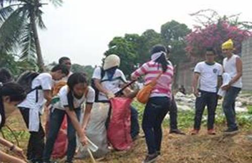 OLFU supports DepEd's Brigada Eskwela 2014