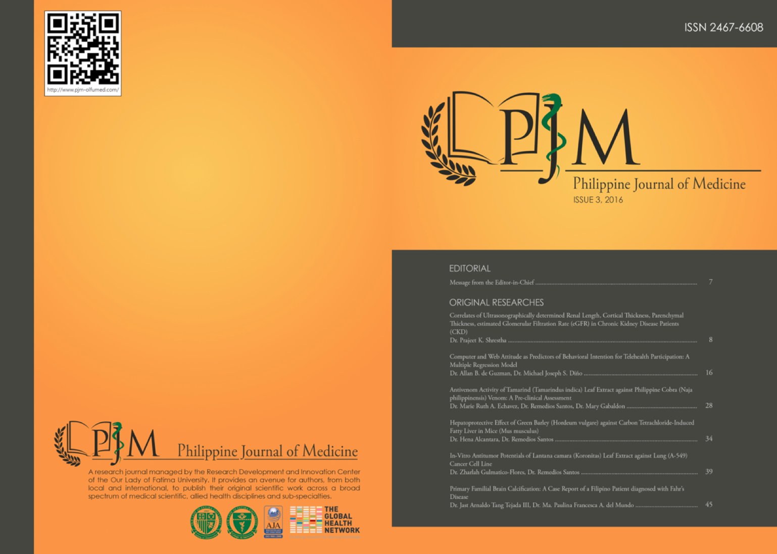 PHILIPPINE JOURNAL OF MEDICINE