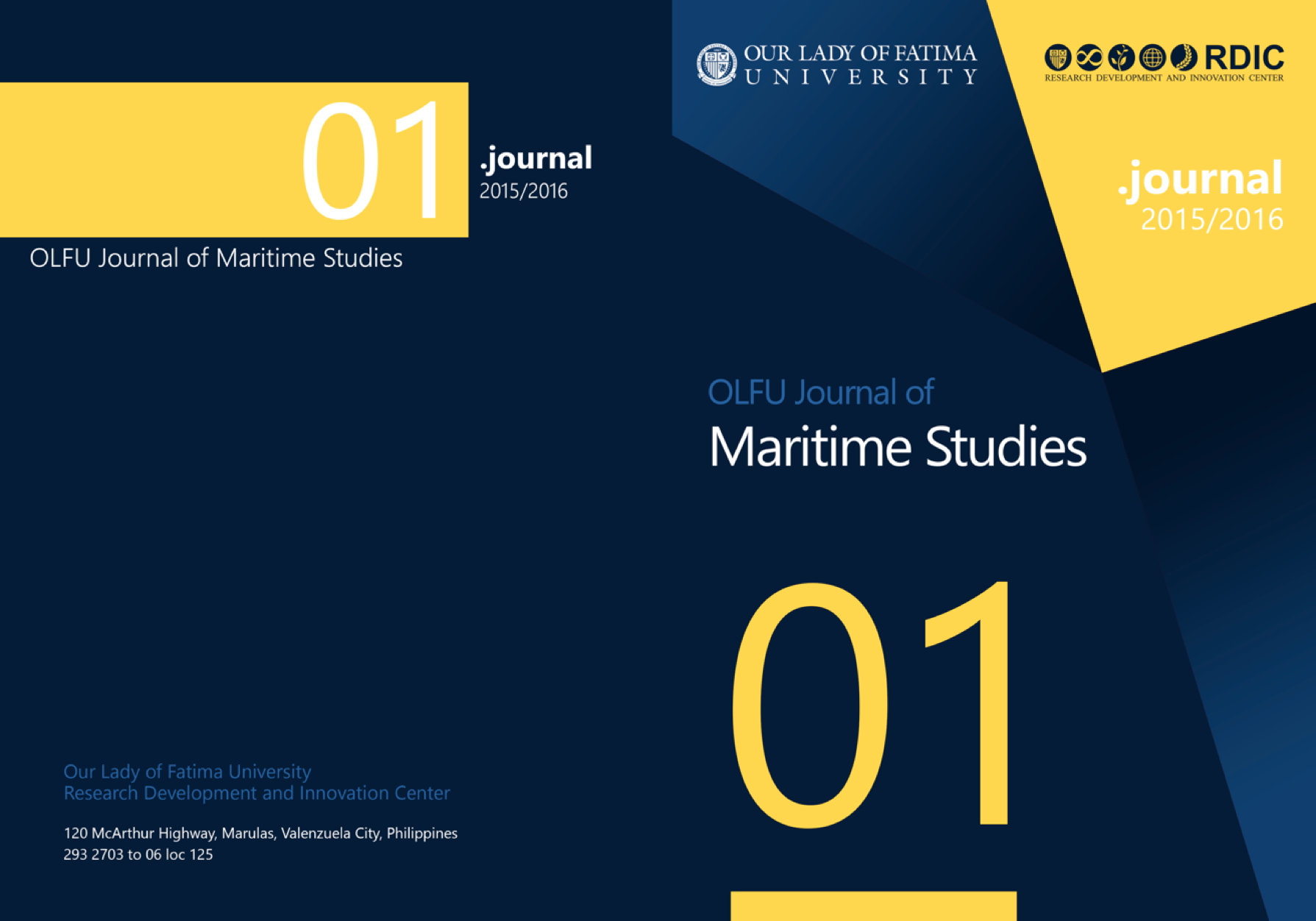 OLFU JOURNAL OF MARITIME STUDIES