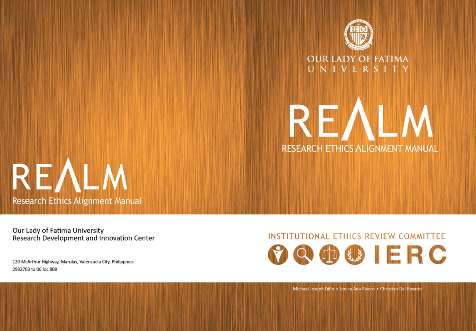 RESEARCH ETHICS ALIGNMENT MANUAL (REALM)