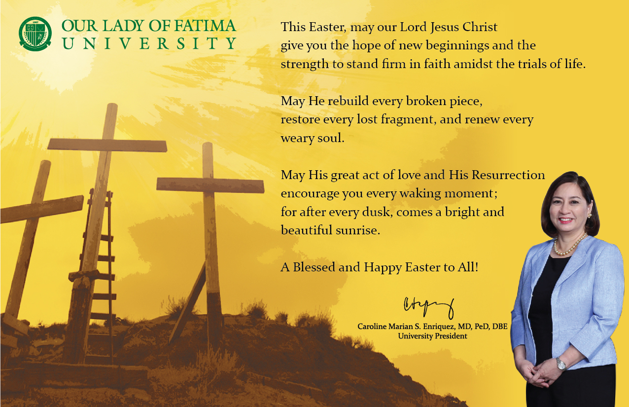 Easter Message from the University President
