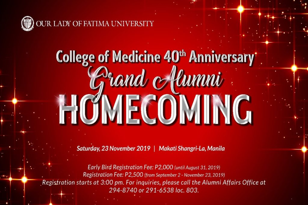 Medicine Homecoming