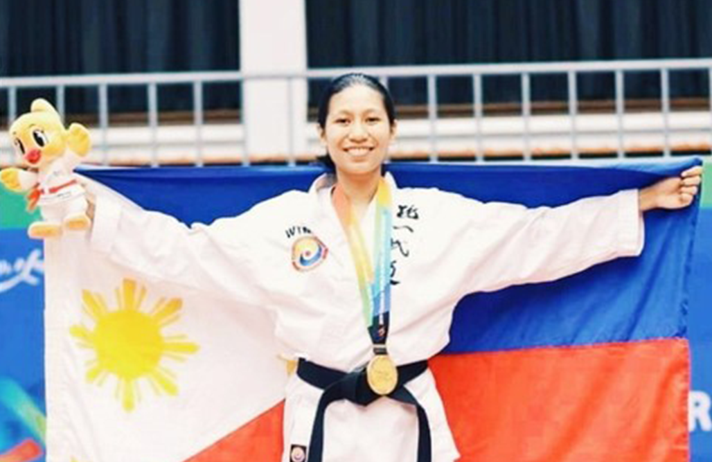 Alumna Estrabela goes for the Gold at the World Tong Il-Moo Do Championships
