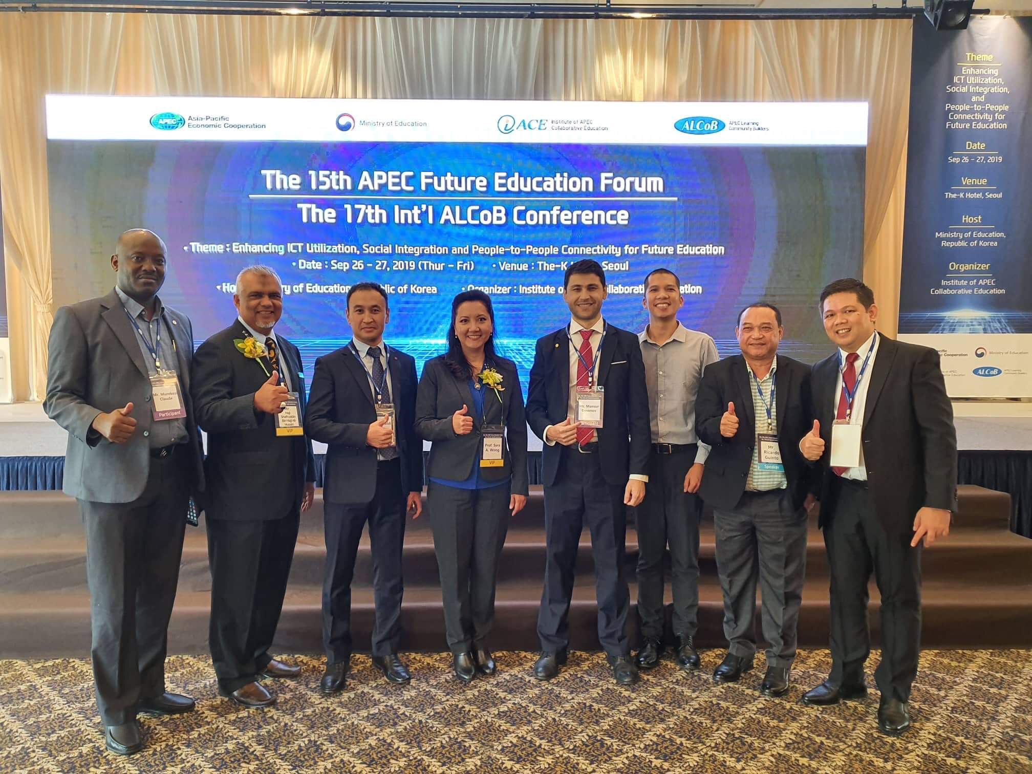 OLFU BED shares best practices at Korea APEC Program