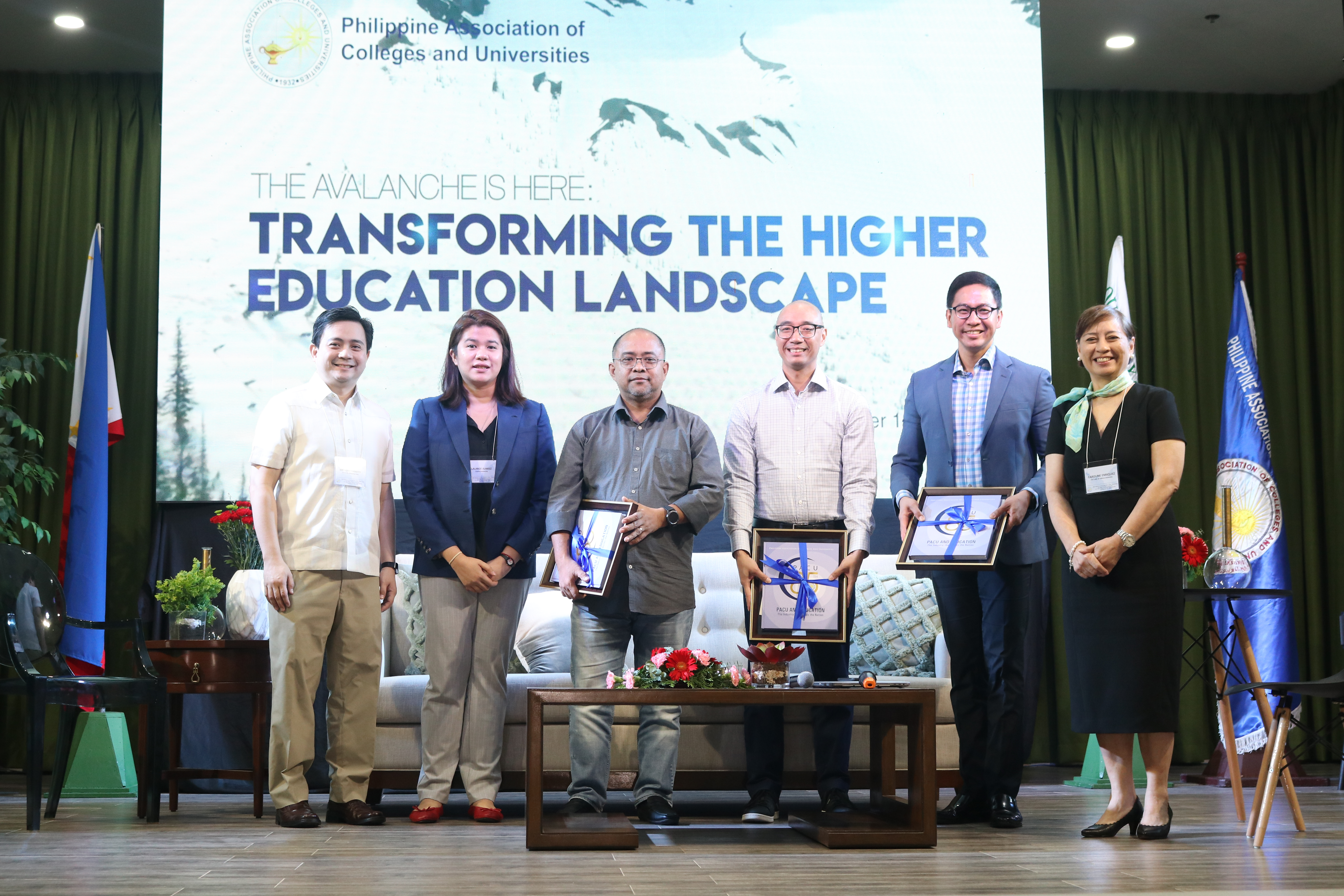 "Firm amidst the ""Avalanche"": OLFU hosts PACU Academic Management Seminar"