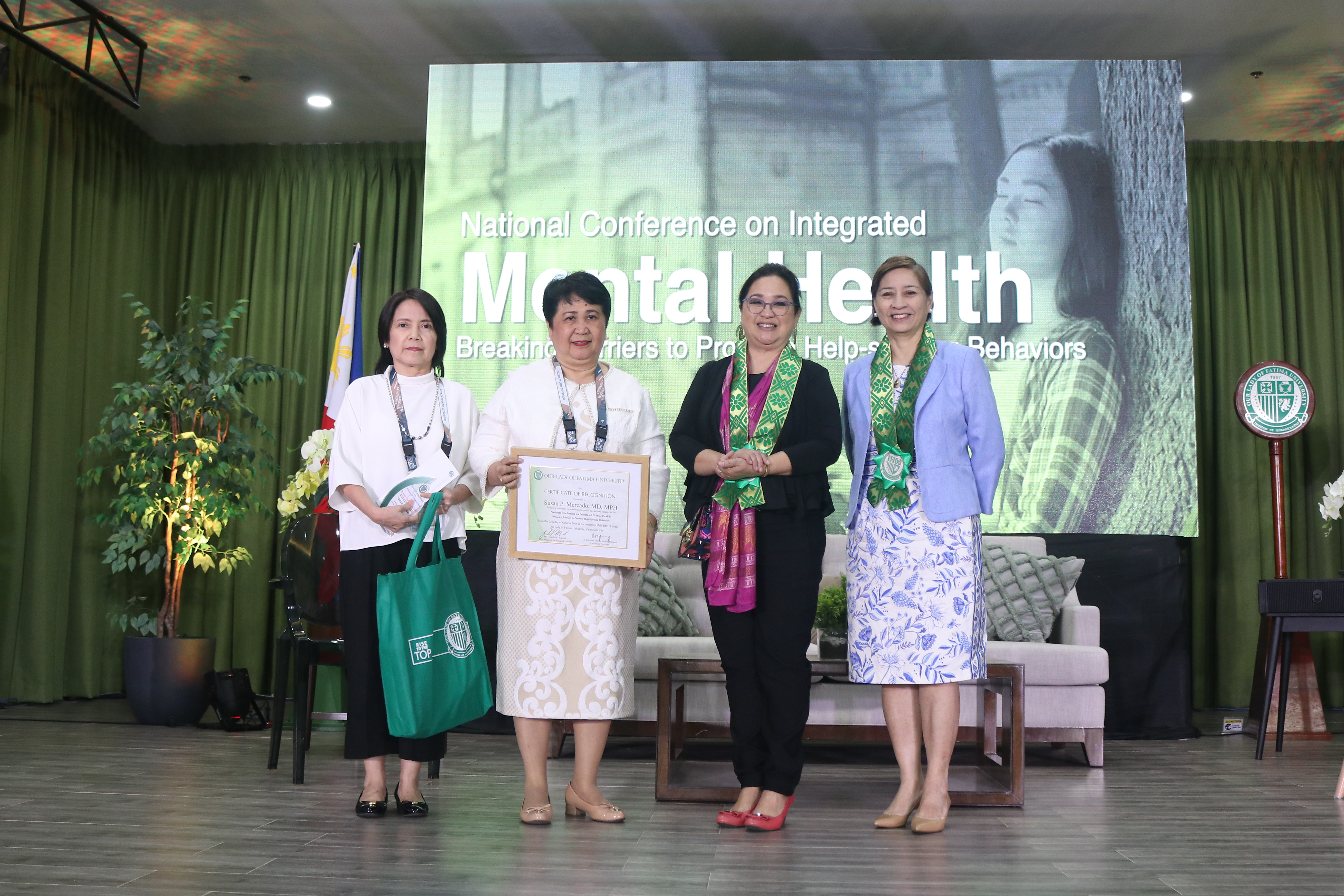 OLFU breaks barriers through National Conference on Integrated Mental Health
