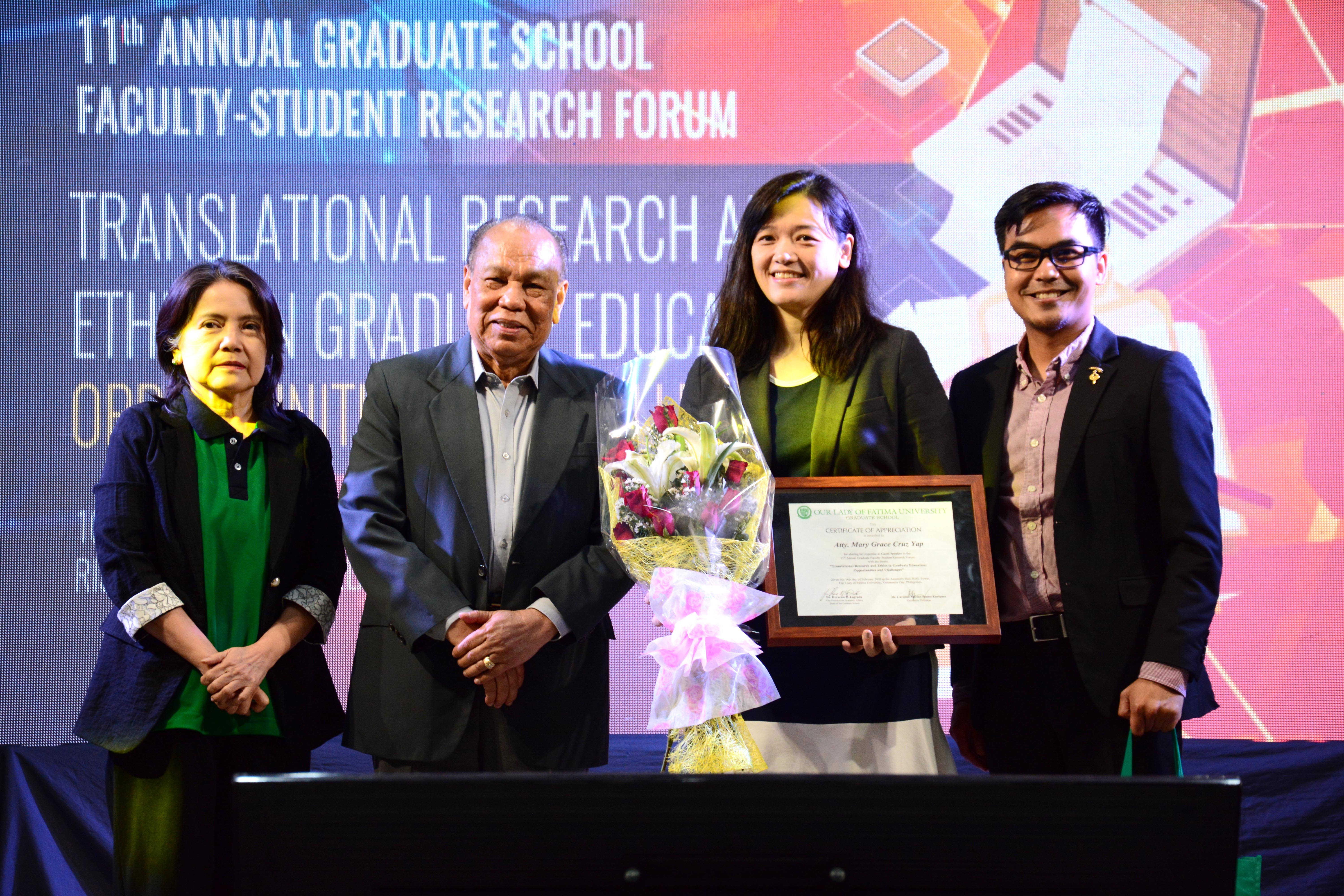 Graduate School students engage in an enriching Research Forum