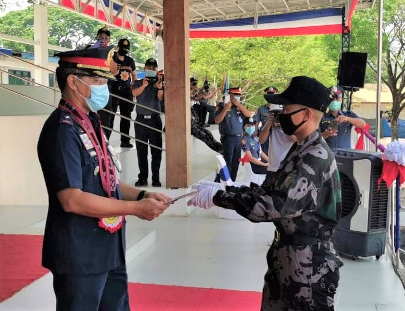 CCJ Alumna tops PNP Basic Public Safety Training