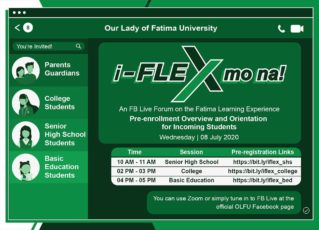 "Students and Parents attend ""i-FLEX mo na!"" Facebook Live Forums"