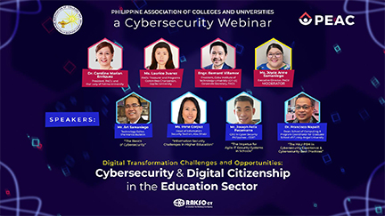 Keeping Schools Safe in the Digital World: PACU Webinar informs Academe on Cybersecurity