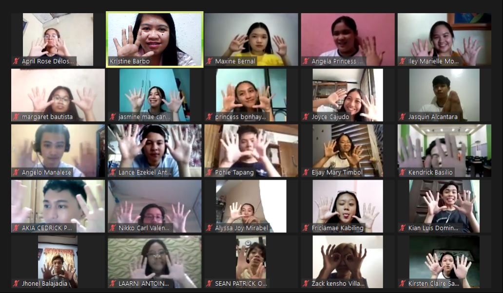 BED Pampanga holds Virtual Day Camp