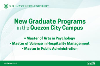 More Graduate Programs launched in OLFU Quezon City Campus