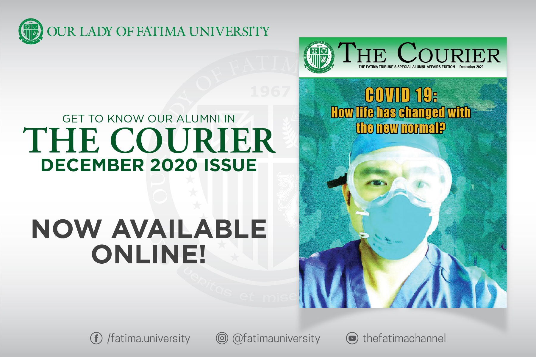 The Courier's December 2020 Issue, Now Available Online