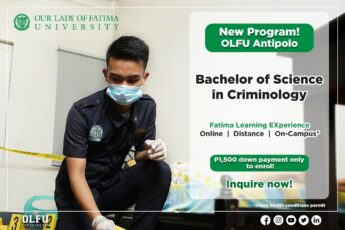BS Criminology, Now Offered at the Antipolo Campus